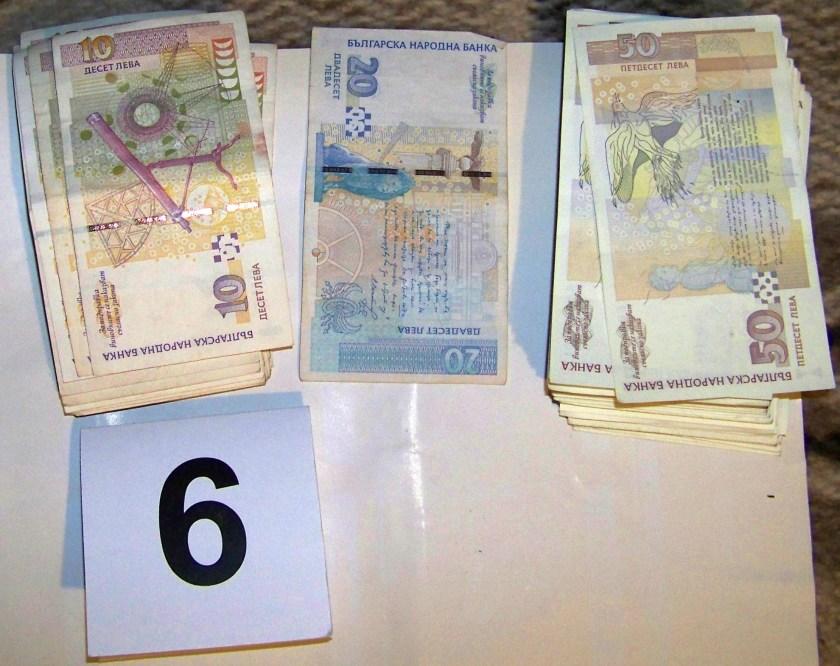Ето го златото и пачките с пари на задържания за лихварство кметски син от Шумен (СНИМКИ)