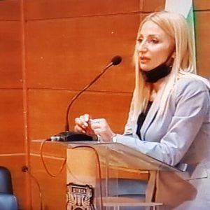 Ася Аспарухова е новият председател на общинския съвет в Шумен