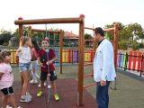 "Нова детска площадка за малчуганите в кубратския квартал ""Дряново"""